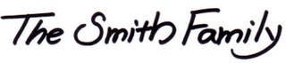 Smith Family Signature