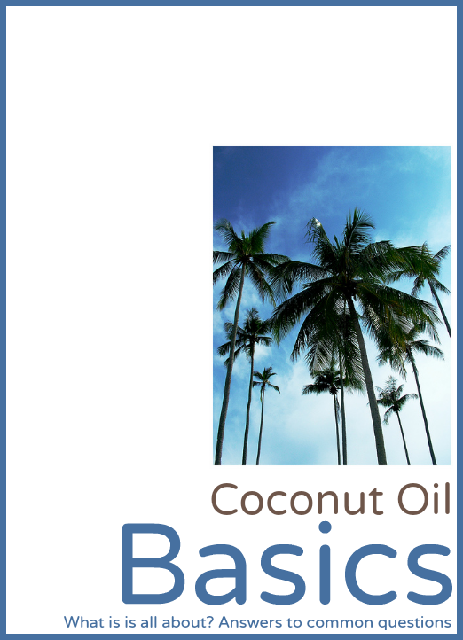 Free Coconut Oil Basics Guide Cover