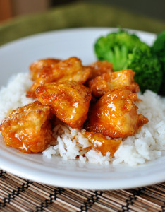 Coconut Oil Sweet & Sour Rooster (to die for)
