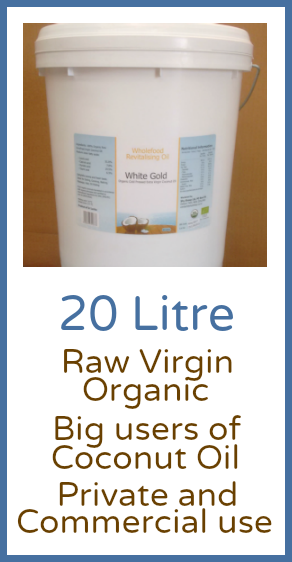 Raw Virgin Coconut Oil 20 Litre Pails