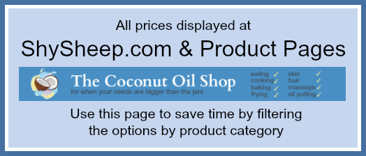 Coconut Oil Sort By Category