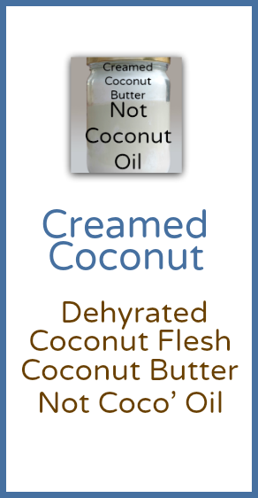 Creamed Coconut Product Category