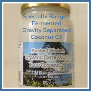 Specialty Range Aisle Fermented Ancient Wisdom Coconut Oil