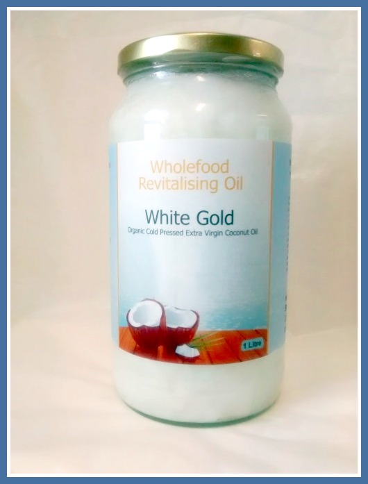 Coconut Oil - White Gold 1L Glass 1000ml VCO