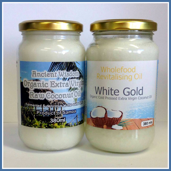Coconut Oil Shop Twinpack Coconut Oil Sampler