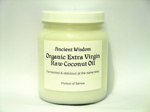 Ancient Wisdom Raw Pure Fermented Coconut Oil 1 L