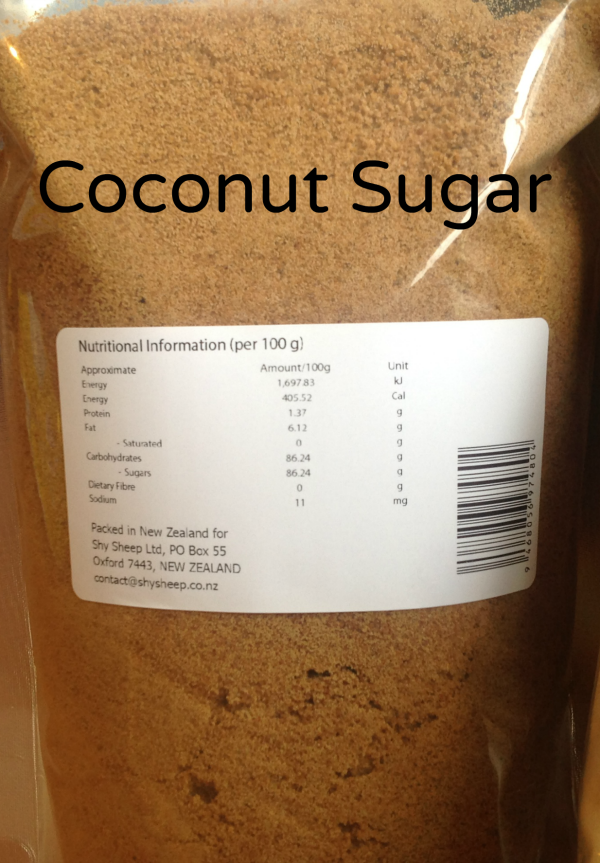 Colonel Montmorency 1kg Organic Coconut Sugar
