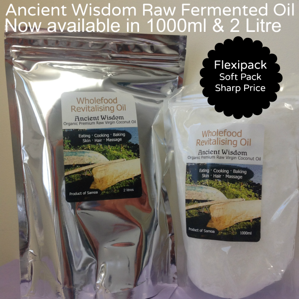 Ancient Wisdom 100ml and 2 Litre Flexipacks