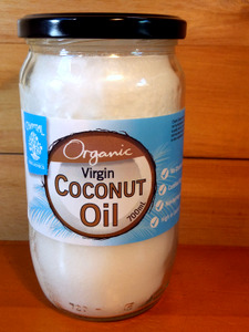 Chantal 700 ml unfermented virgin coconut oil | free NZ delivery included