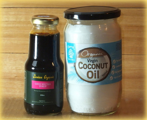 Coconut Syrup and Oil Combo