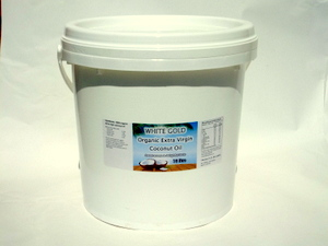 White Gold 10 Litres Bulk Coconut Oil NZ | CoconutOilShop.co.nz
