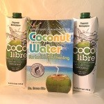 Coco Libre 1L Coconut Water Twin Pack Book Combo