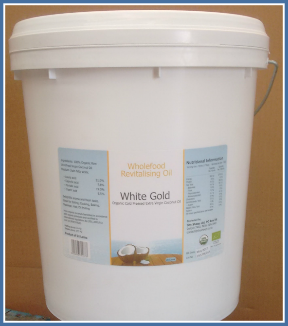 White Gold 20L Pail 592