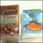 Cooking with Coconut Flour and Gold Dust