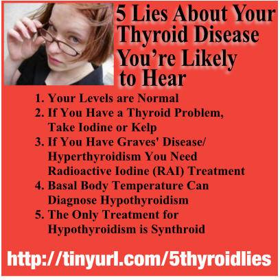 5 Lies You Are Likely To Hear About YourThyroid