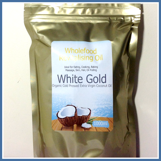 White Gold | Raw Cold Pressed, Organic Unrefined Virgin Coconut Oil