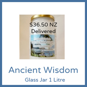 1L Glass Jar Ancient Wisdom