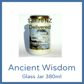 380ml Glass Jar Ancient Wisdom