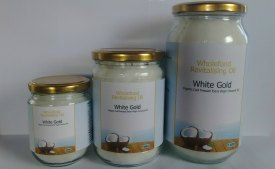 White Gold Extra Virgin Truest Coconut Oil taste from Sri Lanka