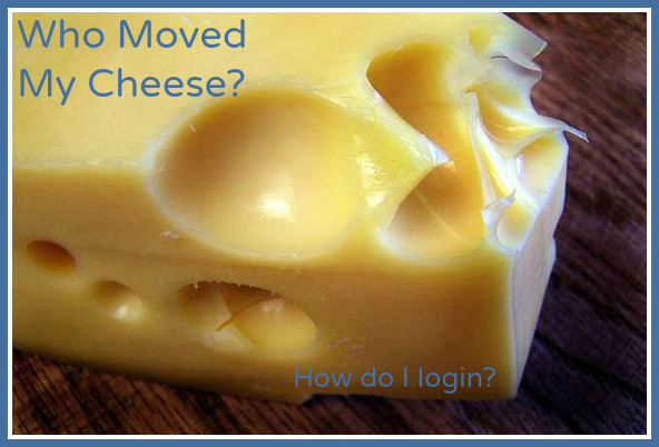 My Account - who moved my cheese?