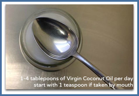 Eating Virgin Coconut Oil - 1-4 Tablespoons per day